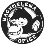 logo-nachmelena-opice-tmavy-podklad