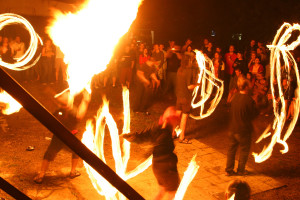 Ohňová šou Ignis Inferno