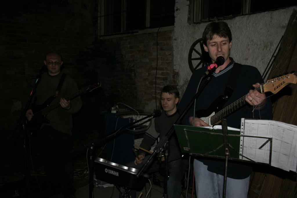 22. května 2005 A furt jim to ladí, tehdy v sestavě Alda a 2x Peťa