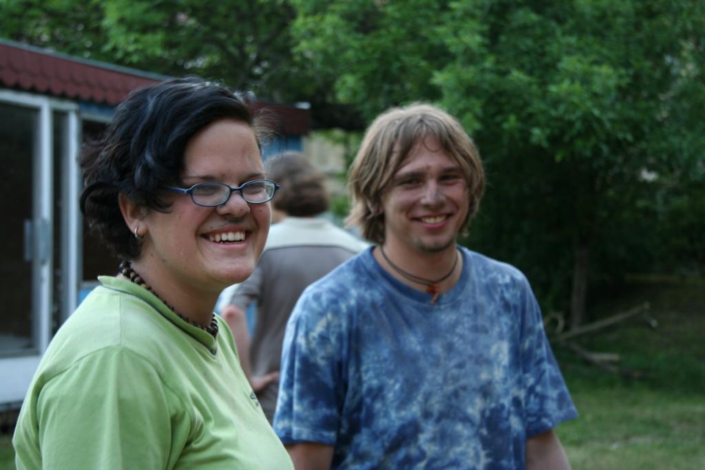 4. června 2005 Úderníci Tereza Volánková a Petr Němec